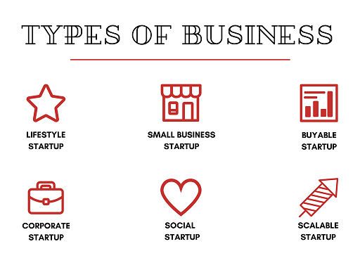 6 Different Types of Startups You Need To Know About - getinstartup