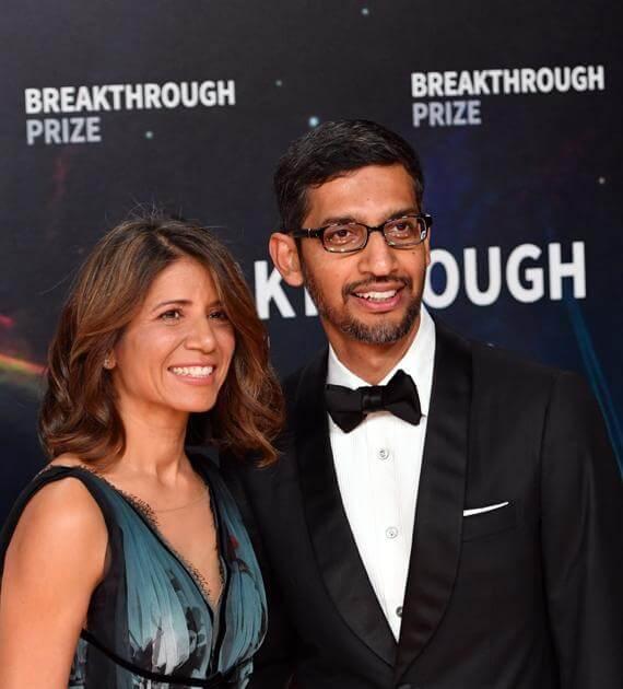 Anjali Pichai - Wife of Google CEO Sundar Pichai-1-getinstartup